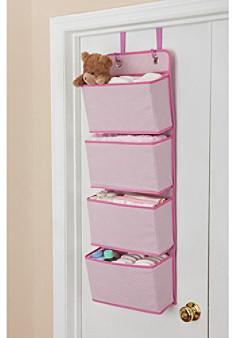 Delta 4-Pocket Pink Over the Door Organizer