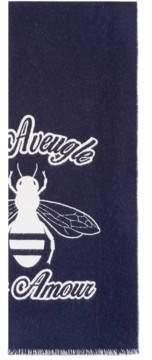 Gucci Wool bee jacquard scarf
