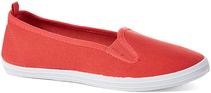 Orange Classic Slip-On Shoe - Women