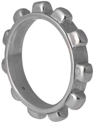 Edge Only - Worry Ring Mens Silver