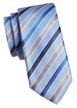 Geoffrey Beene Sunny Stripe Silk Tie