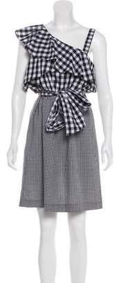 Calvin Klein Gingham Sleeveless Dress w/ Tags
