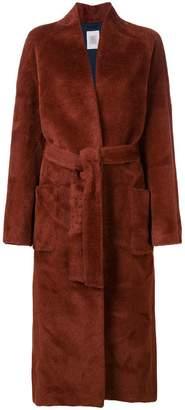 Eleventy belted long coat