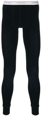 branded thermal leggings - Black Dsquared2 NUeCZyr8bN