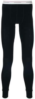 branded thermal leggings - Black Dsquared2 rzfNA