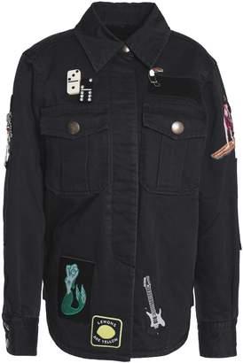 Marc Jacobs (マーク ジェイコブス) - マーク ジェイコブス アップリケ&装飾付き デニム ジャケット