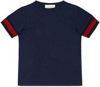Gucci Knit Cuff T-Shirt