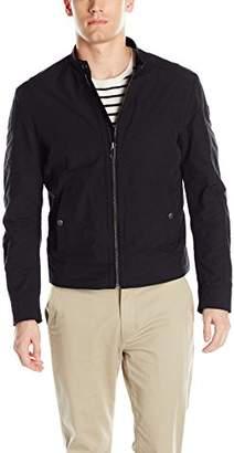 HUGO BOSS BOSS Orange Men's Onate Leather Bomber Jacket