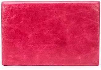 Diane von Furstenberg large flap pouch