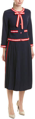 BURRYCO 2Pc Jacket & Skirt Set