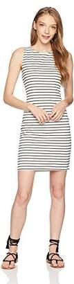 Jack by BB Dakota Junior's Karen Striped Ponte Bodycon Dress