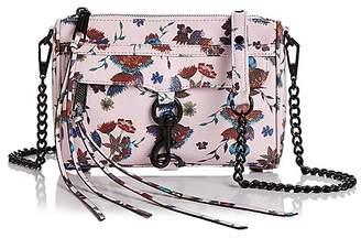 Rebecca Minkoff Floral Mini Mac Leather Crossbody