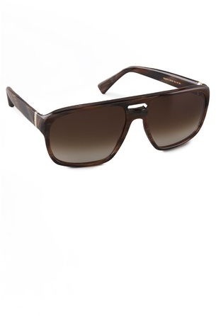 Saint laurent Plastic Aviator Sunglasses