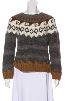 Smythe Fair Isle Knit Pullover
