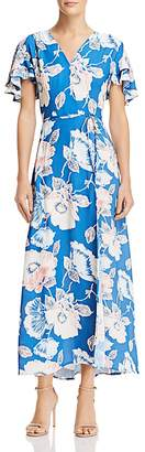 French Connection Cari Crepe Floral-Print Maxi Dress