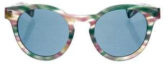Ahlem Multicolor Round Sunglasses