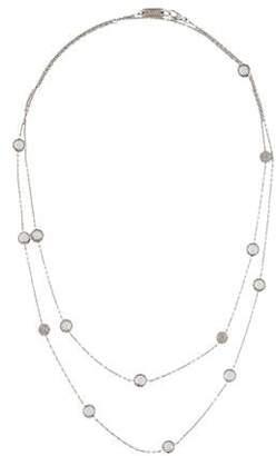Ippolita Quartz & Diamond Station Necklace