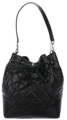 Alice + Olivia Quilted Leather Shoulder Bag