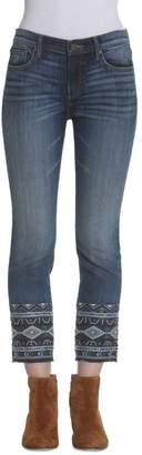 Driftwood Colette Cuff Capri Jeans