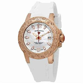 Swiss Legend Women's Quartz Stainless Steel and Silicone Casual Watch