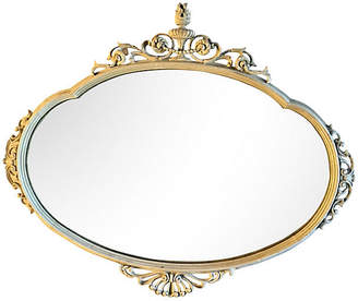 One Kings Lane Vintage French Mirror with Torch Crown - Collections77