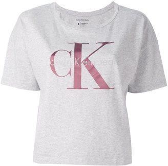 Calvin Klein Jeans logo print T-shirt $48.28 thestylecure.com