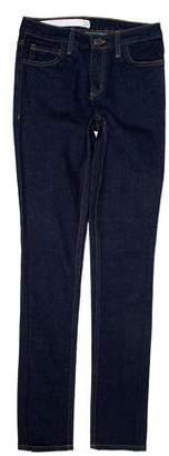 OAK Mid-Rise Skinny Jeans