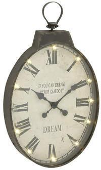 Wayfair Katalina LED Wall Clock