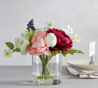Pottery Barn Faux Easter Composed Flower Arrangement