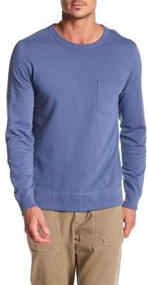 Save Khaki Fleece Knit Sweatshirt