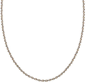 STERLING SILVER CHAINS Silver Reflections Two-Tone Sterling Silver Butterfly Twist 20 Chain Necklace