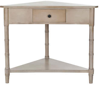 One Kings Lane Geneva Corner Table - Neutral