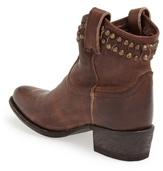Frye Women's 'Diana' Cut & Studded Leather Short Boot