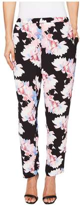 Vince Camuto Poetic Bouquet Slim Leg Pull-On Pants Women's Casual Pants