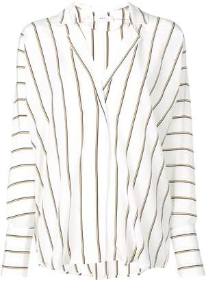 A.L.C. striped oversized blouse