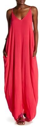 Love Stitch Gauze Maxi Dress