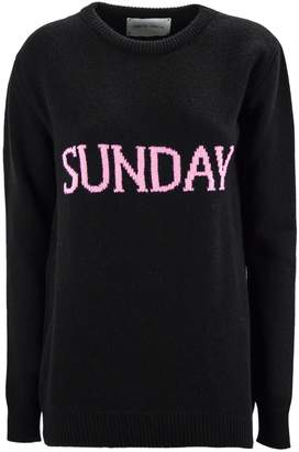 Alberta Ferretti sunday Black Long Pullover