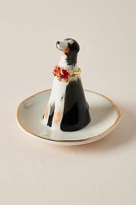 Anthropologie Dapper Dog Trinket Dish