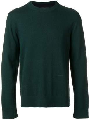 Joseph crew neck knit sweater