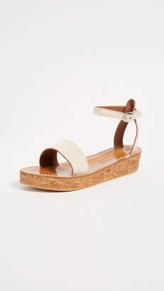 K. Jacques Talloire Flatform Sandals