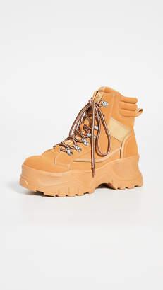 Buffalo London Fendo Lace Up Boots