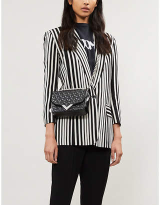 The Kooples Striped crepe blazer