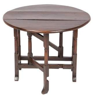 William and Mary Style Gate-Leg Table