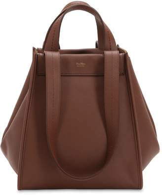 Max Mara Medium Reversible Cashmere Leather Bag