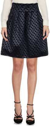 Chiara Boni Knee length skirts - Item 35374983NR