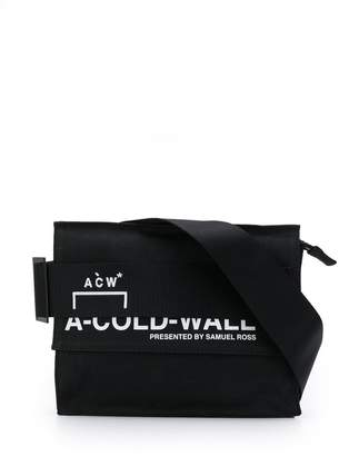 A-Cold-Wall* logo print belt bag