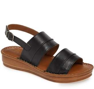 c8f9dac9c0f Bella Vita Black Wedge Women s Sandals - ShopStyle