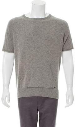 Rag & Bone Cashmere Short Sleeve Sweater