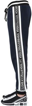 Dolce & Gabbana Hashtags Cotton Sweatpants