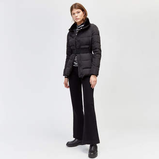 Warehouse Short Belted Padded Coat